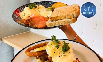 AllDay Breakfast or Lunch & Coffee: 1 $12, 2 $24 or 4 People $48 at 107 Coffee Terminal Capalaba Up to $93.60