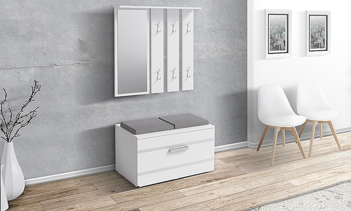 Shoe storage hallway set groupon Home furniture direct uk discount code