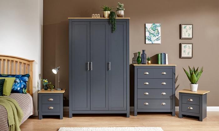 Ledbury Bedroom Furniture Range in Choice of Colour