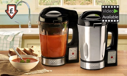 Cooks Professional Stainless Steel or Glass Soup Maker for £34.99 With Free Delivery (65% Off)