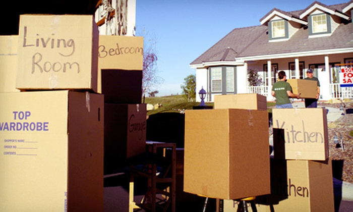 Low Rate Movers & Clean-Up - Portland: Moving Services from Low Rate Movers & Clean-Up (Half Off). Four Options Available.