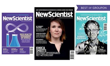 2, 6 of 8 nummers New Scientist met een kado naar keuze abonnement stopt automatisch