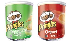 12 packs Pringles