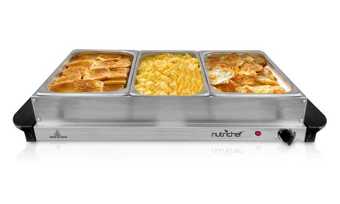 Food Warmer Trays At Walmart ~ In food warming tray buffet server and hot plate