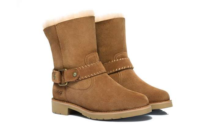 0428aad1fa5 Ever Women's Genuine Leather UGGs | Groupon