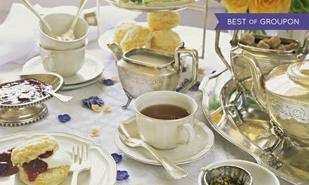 Afternoon Tea for Two with Optional Sparkling Wine at Buxton Palace Hotel