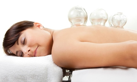 $35 for One-Hour Massage with Chinese Cupping and Moxibustion at Mind Body Soul Healing Center ($75 Value)