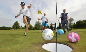 El Prado Golf Course: One Round of FootGolf with Rental Balls for Two or Four at El Prado Golf Course (Up to 52% Off)