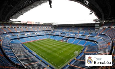 Tour Bernabéu para niño y/o adulto desde 18 €