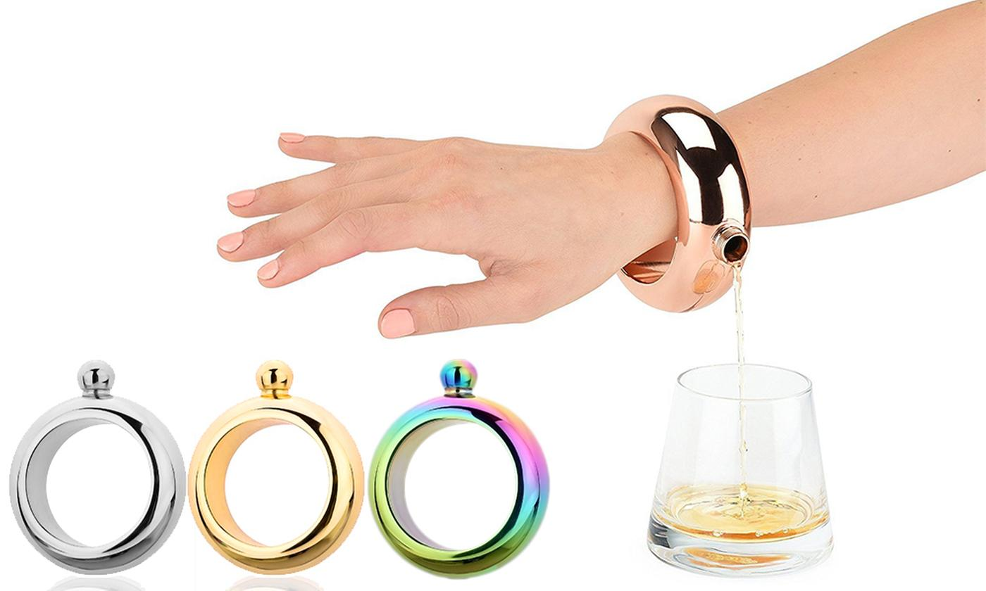 One or Two Flask Bracelets