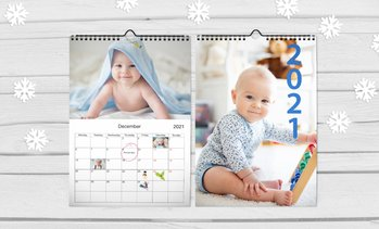 Personalised A4 Wall Calendar