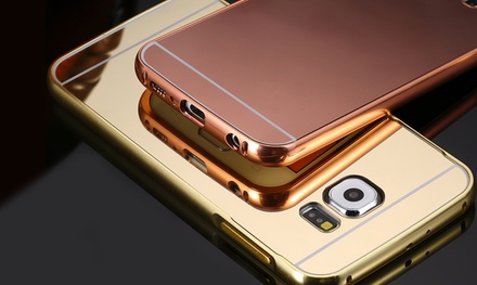 1 o 2 fundas protectoras de metal fino efecto espejo para  Samsung Galaxy S6/S7 desde 6,99 € (hasta 79% de descuento)
