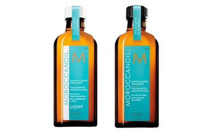 .95 for Moroccanoil Original Oil Treatment 100ml or Light for Finer or Blonde Hair Don't Pay up to $119.90