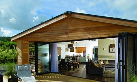 Various UK Locations: Up to 3Night Lodge Stay for Six with Prosecco and Breakfast Hamper with The Dream Lodge Group