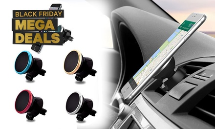360-Degree Magnetic Car Air VentPhone Holder: One ($8) or Two ($12.95)