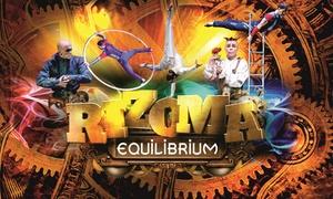 """Art Trends: 2 Tickets für die Akrobatikshow """"Rizoma Equlibrium"""" von März bis April 2018 in 16 Städten (bis zu 60% sparen)"""