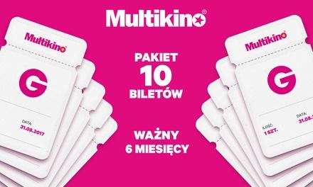 Od 189 zł za karnet do Multikina ważny pół roku: 10 biletów na dowolne seanse 2D – 33 lokalizacje (do -32%)