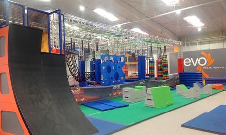 One, Three, or Five One-Hour Ninja Warrior Sessions for Kids at EVO Athletics (Up to 33% Off) 221a70ea-30fa-4ff8-9057-d5de4ab00ddc