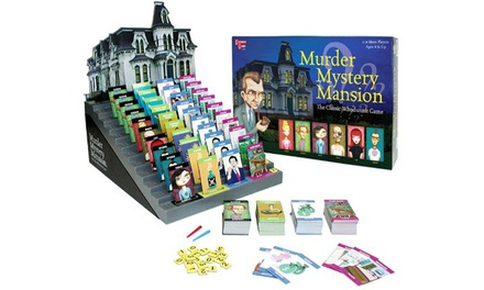 University Games Murder Mystery Mansion Board Game for £9.98
