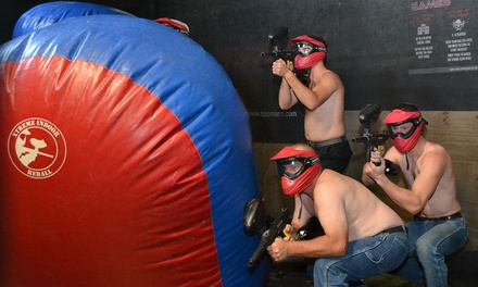 Paintless Paintball: Re ball ($89) or Match up ($89) at Thrill Zone (Up to $144 Value)