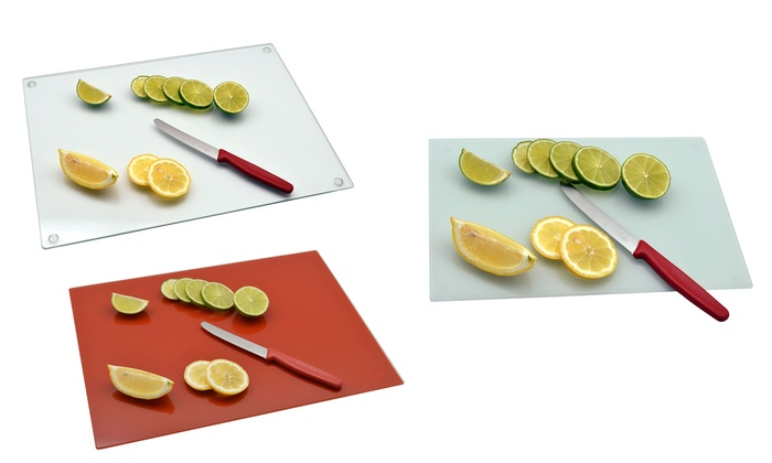 Glass Kitchen Chopping Board Groupon
