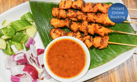 $50 $35 or $100 $70 to Spend on Malaysian Food and Drinks at YaMalaysia, 2 Locations