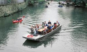 Stadthafen Leipzig: 70-75 Min. Motorboot-Rundfahrt durch den Karl-Heine-Kanal für 2 oder 4 Pers. mit Stadthafen Leipzig (bis zu 52% sparen*)