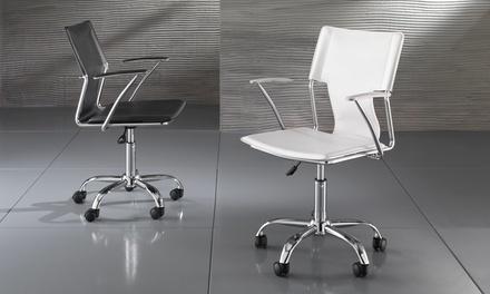 Poltrone da ufficio disponibili in 2 modelli e vari colori