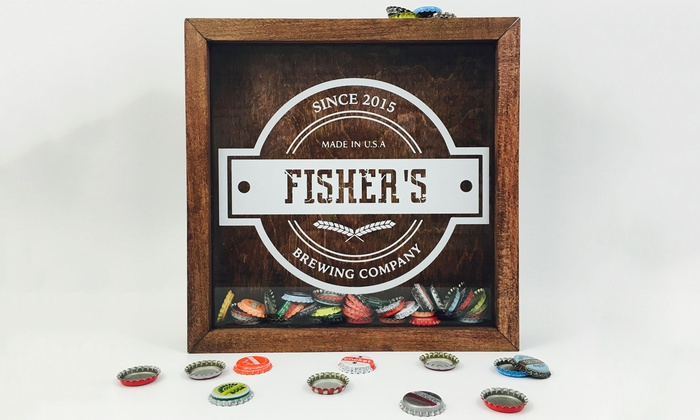 Metal Unlimited: Custom Shadow Box for Beer Bottle Caps from Metal Unlimited (Up to 56% Off)