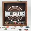 Up to 54% Off Custom Beer Bottle Cap Shadow Box for Him or Her
