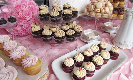 Two Dozen Mini Cupcakes or One or Two Dozen Regular or Filled Cupcakes at Sweet Traders (Up to 55% Off)