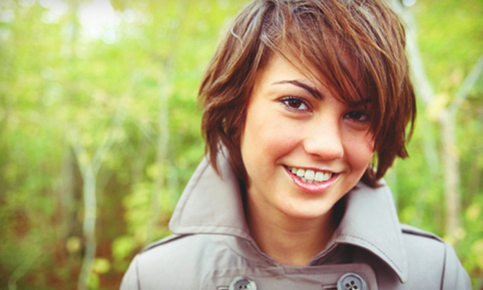 R-Crew The Salon - Downtown Portland: Haircut with Conditioning Treatment, Conditioning and Color, or Keratin Treatment at R Crew The Salon (Up to 72% Off)