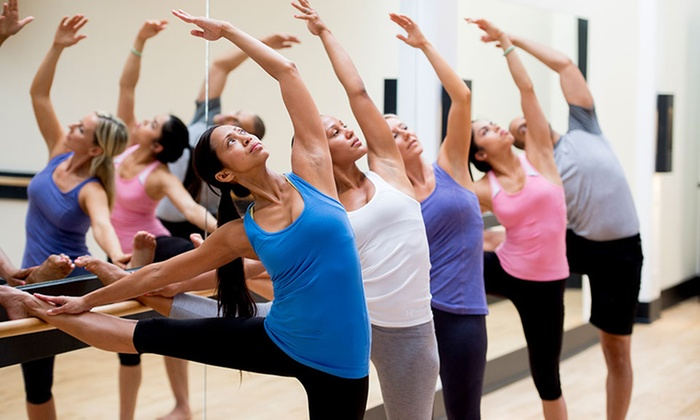 Inner You - Clay Terrace: Five BarreAmped or Ten BarreAmped, Mat Pilates, or Tap'n Pow{h}er Classes at Inner You (Up to 67% Off)