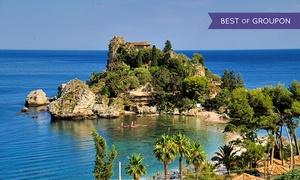 Siracusa Moving Tourist: Tour di Taormina con guida accompagnatore fino a 4 persone con Siracusa Moving Tourist (sconto fino a 75%)