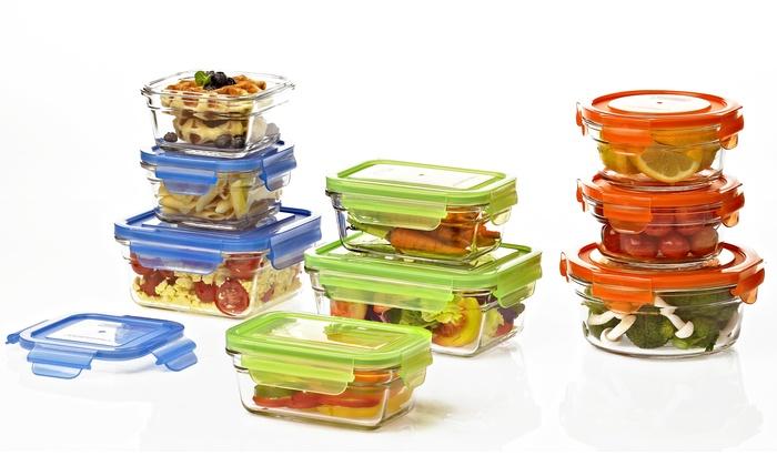 Glasslock Food Storage Container Sets Cool Glasslock Oven Safe Food Storage Groupon Goods