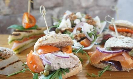 Luxe driegangen lunchproeverij voor 28 personen bij Gasterij De Kommensaal aan het Rhederlaag
