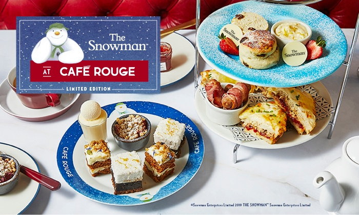 The Snowman Afternoon Tea