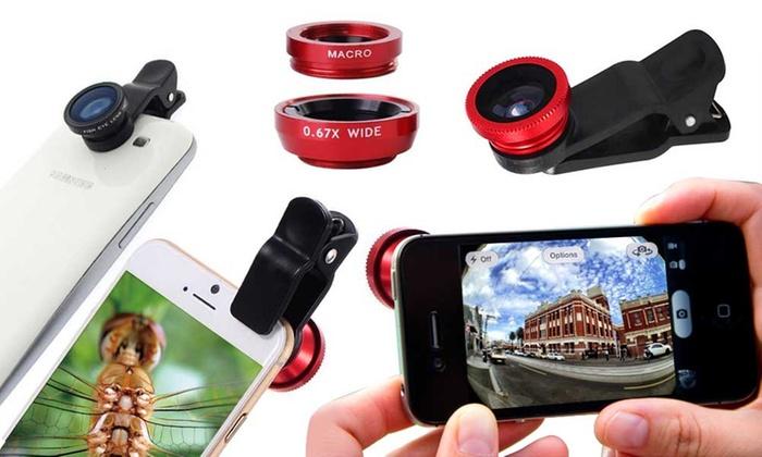jusqu 39 56 objectif de cam ra pour smartphone groupon. Black Bedroom Furniture Sets. Home Design Ideas