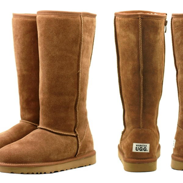 e1bdb86d136 $99 for a Pair of Waratah UGG Water-Resistant Tall Zip Up Boots (Don't Pay  $329)