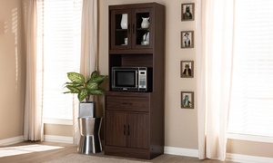 Laurana Kitchen Cabinet and Hutch