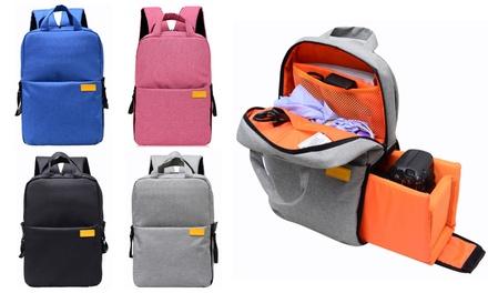 MultiFunction WeatherResistant SLR/ DSLR Camera Backpack: One $39 or Two $69