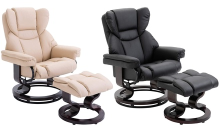 Reclining Armchair Set