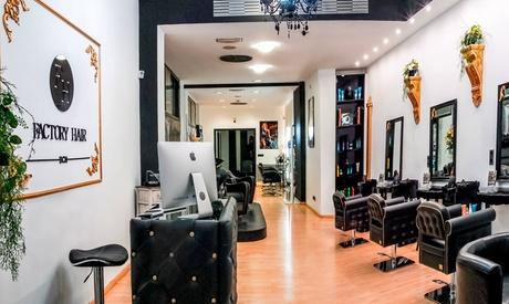 1 sesión de peluquería o alisado Brazil Cacau Keratin y corte de puntas desde 14,99 € en Factory Hair