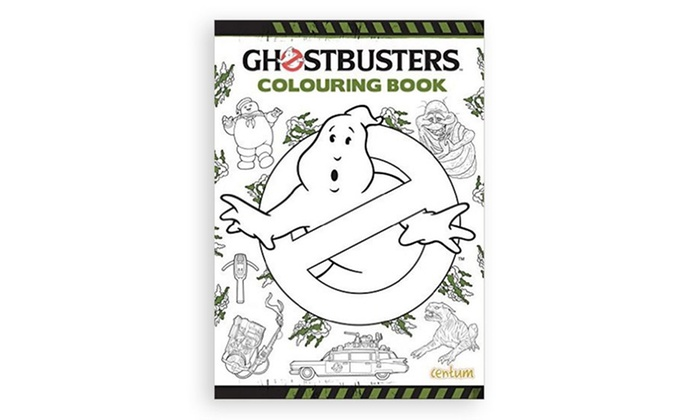 Ghostbusters Colouring Book | Groupon Goods