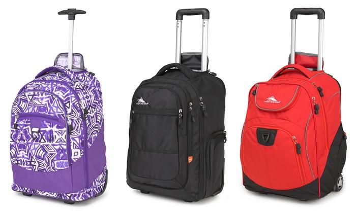 ecfb8784143e High Sierra Wheeled Backpacks