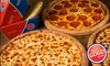 Pizza GoGo - Multiple Locations: Three Sides with Pizza Order at Pizza GoGo, Multiple Locations (Up to 80% Off)