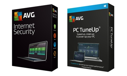 AVG PC Tuneup or Internet Security for One User with AVG South Africa
