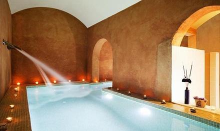 Spa de 2h para dos con piscina exterior de agua salada y opción a masaje desde 19,95 € en Sant Pere del Bosc Hotel & Spa