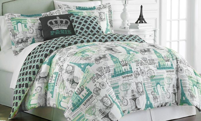 Hotel 5th Ave Paris Collection Comforter Set (5 Piece): Hotel 5th Ave ...
