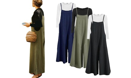 One or Two Wide Leg Jumpsuits in Choice of Colour